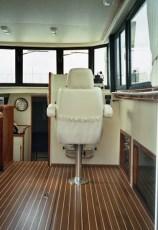 Custom helm seat