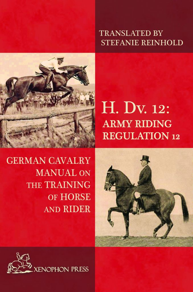 german cavalry manual training scale dressage jumping