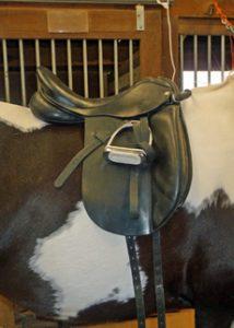 ill-fitting saddle dressage