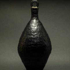 Stoneware Vessel - 18 H x 7.5 W x 7.5 in