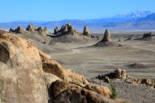 Trona Pinnacles Tufa Formations