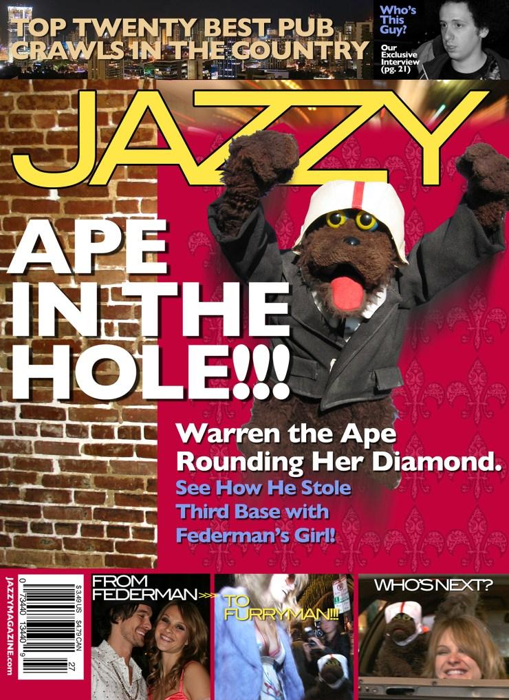 Warren The Ape - Production Graphics