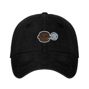 Brown Piff Hat