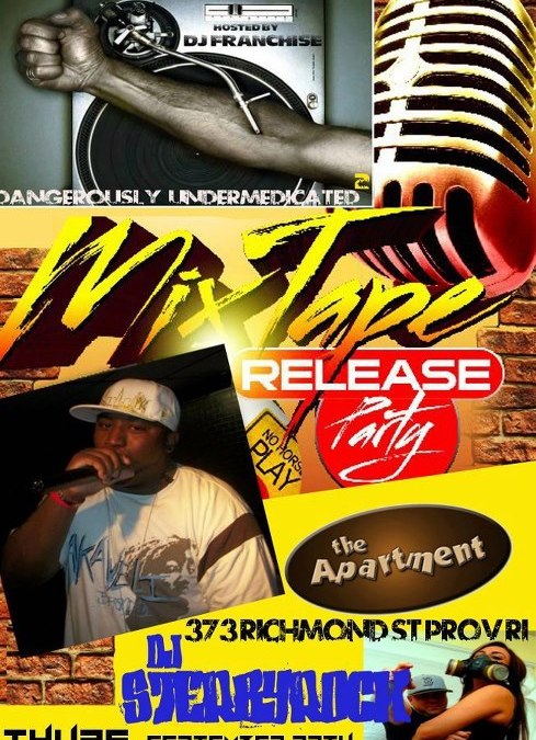 J. Profane Mixtape Release Party @ The Apartment | THURSDAY 9.27.12