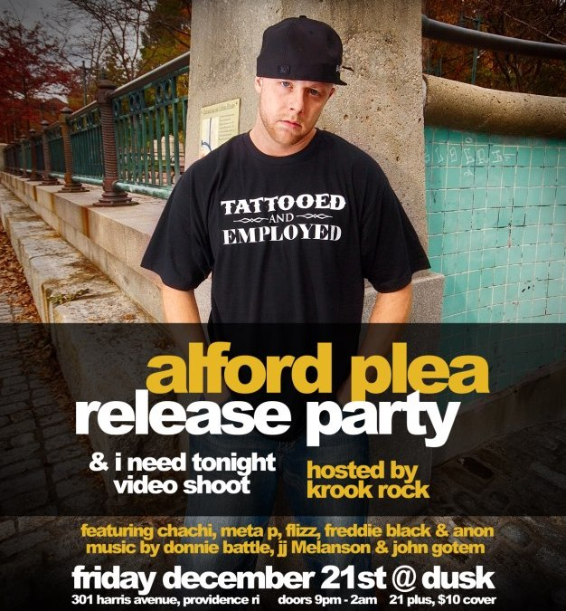 Big Rush's Alford Plea Release Party & Video Shoot | FRIDAY 12.21.12 @ Dusk