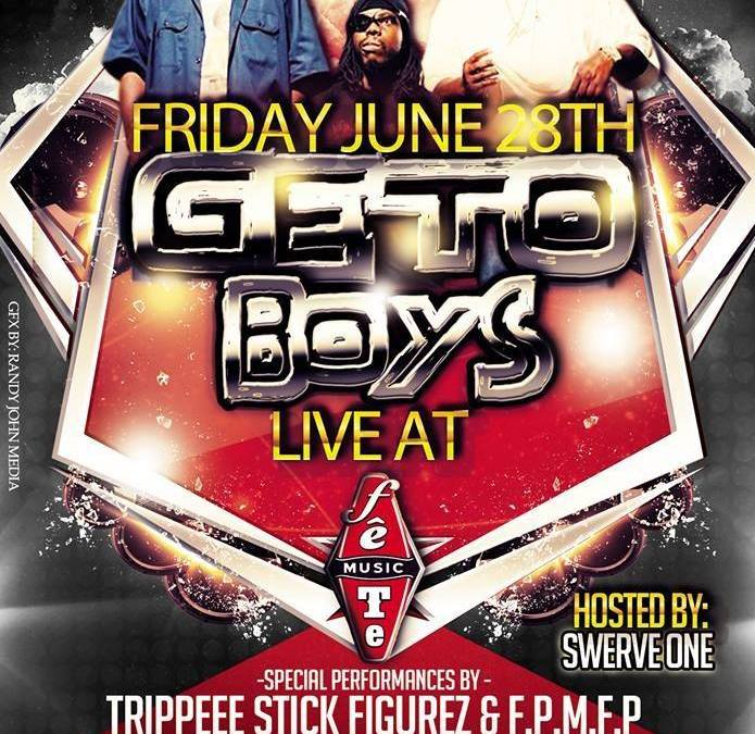 The Geto Boys performing LIVE @ @FeteMusic 6.28.13