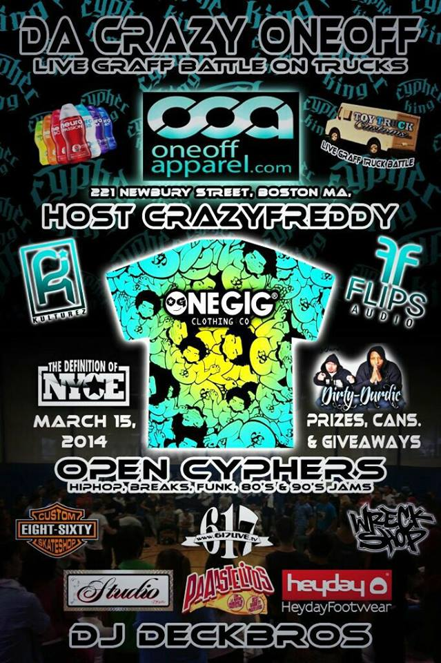 Da Crazy One-Off Online Graff Battle