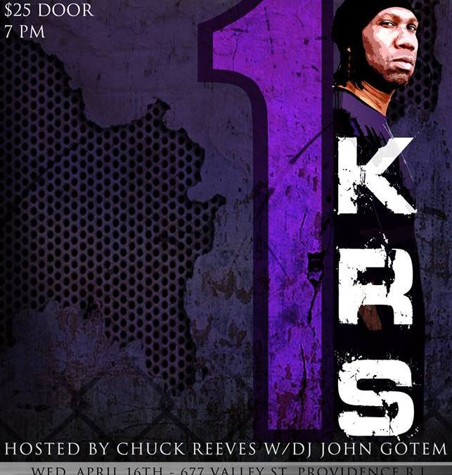 KRS-One @ Simon's 677 | WEDNESDAY 4.16.14