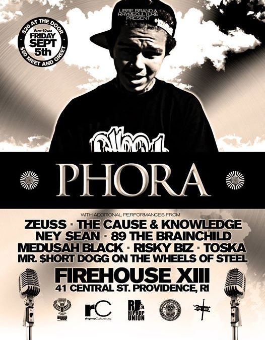 Phora @ Firehouse XIII 9.5.14