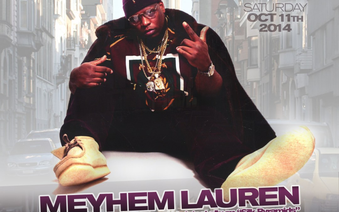 Meyhem Lauren @ The Parlour | SATURDAY 10.11.14