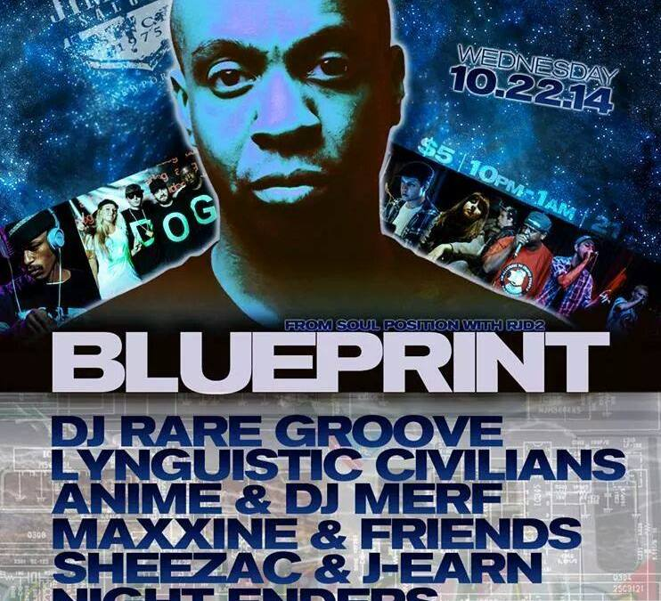 Blueprint | Live in Newport |  Soundboard Audio | 10-22-14