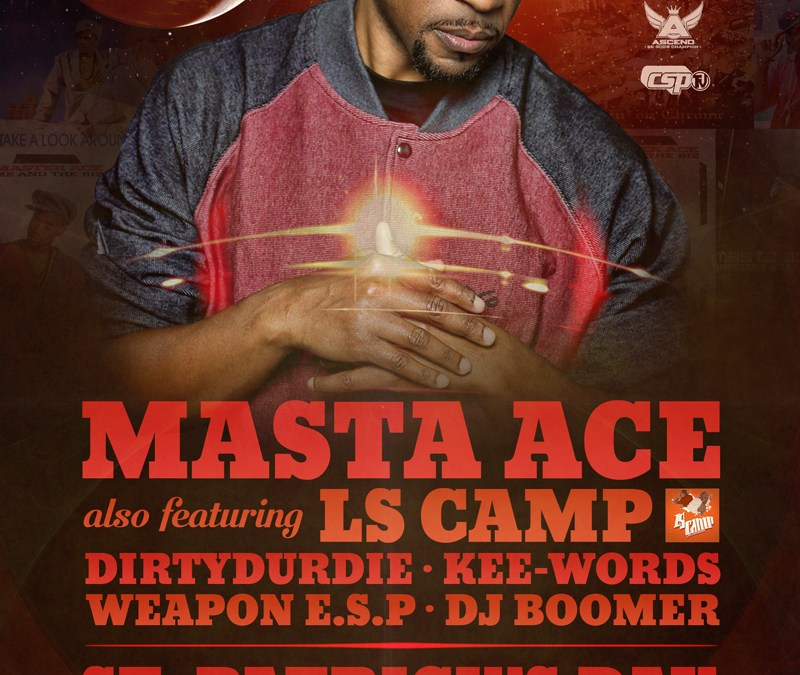Masta Ace @ Jimmy's Saloon | Friday 3/17/17
