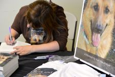 Signing at the Humane Society of Skagit Valley