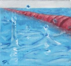 swimming pool in the rain 1
