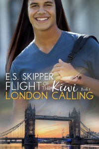 Flight of the Kiwi London Calling E-Book Cover