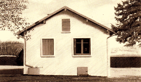 Samuel Beckett's country retreat in Ussy-sur-Marne.