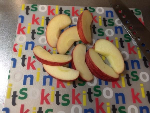切ったリンゴ