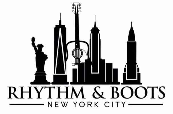 Rhythm and Boots NYC logo (2018).