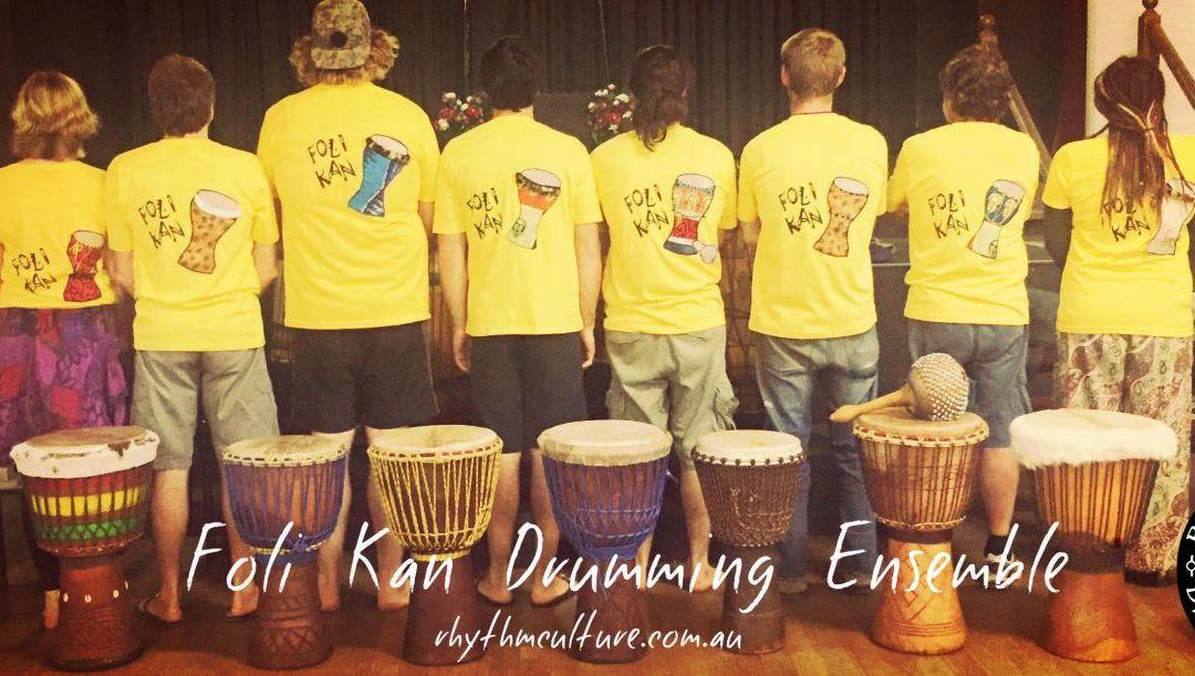 Foli Kan Drumming Ensemble