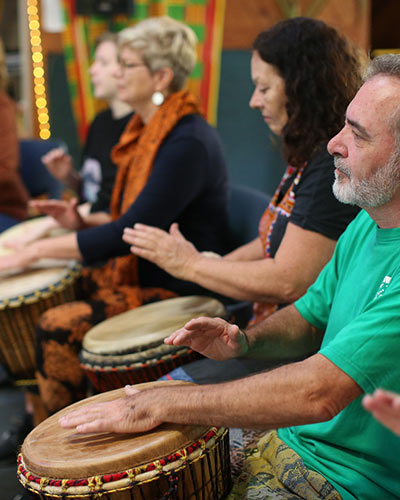 Drumming Classes on the Sunshine Coast with Rhythm Culture