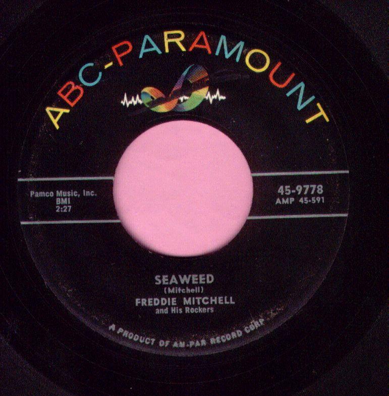 "Freddie Mitchell "" Seaweed "" ABC-Paramount Vg+"