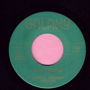 "Little Johnny Taylor "" Help Yourself "" Galaxy Vg+"