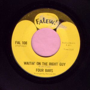"Four Bars "" Waitin' On The Right Guy "" Falew Vg+ / Vg"