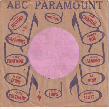 Have uploaded 15 new USA record Company sleeves tonight covering ABC and ABC Paramount