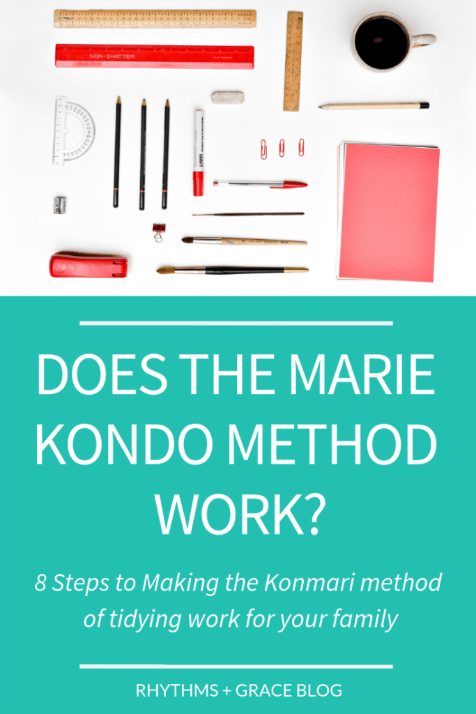 Okay, what's the deal with Marie Kondo? Does the Konmari method really work? Is it even possible to do konmari with kids? A blogger with 2 kids in a small house tells all...