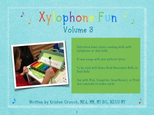 Xylophone Fun Volume 3 cover