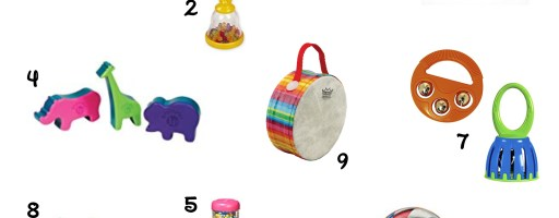 My Top 10 Instruments to use with Babies and Toddlers