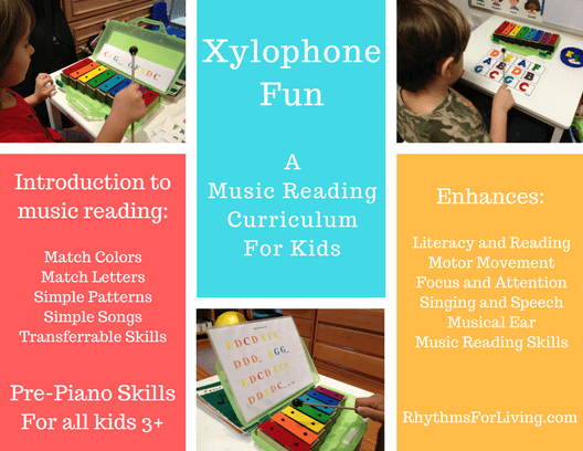 Xylophone Fun Curriculum for kids