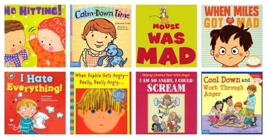 15 Books To Help Kids Manage Anger Rhythms Of Play