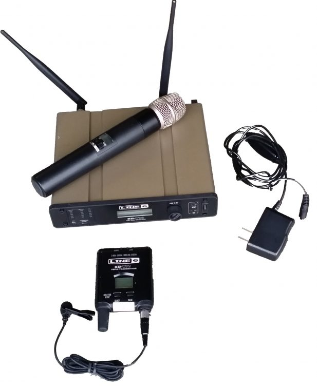 Line 6 digital mic (handheld or lapel)