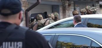 Мужчина подорвал себя в центре Харькова (Видео и фото)