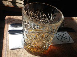 Brandy at Quarndon gastro pub