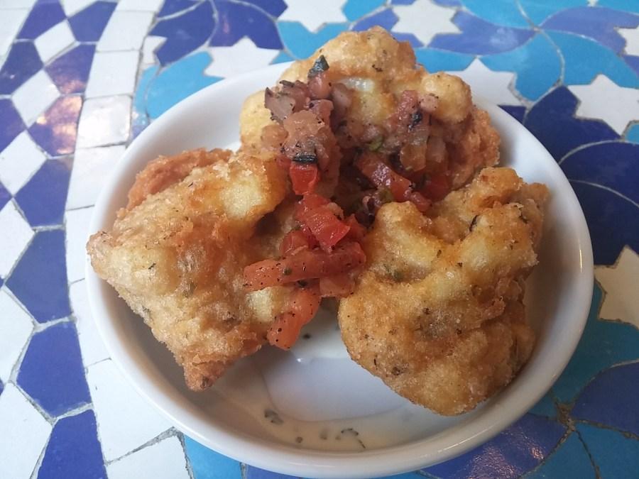 Cauliflower frito