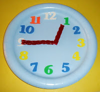 clock with twizzlers hands