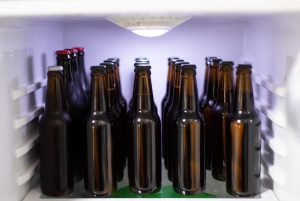 8-12 beers a day in the refrigerator