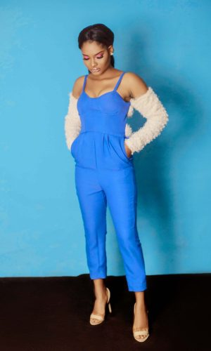 front view of the Mary Jumpsuit by Ria Kosher