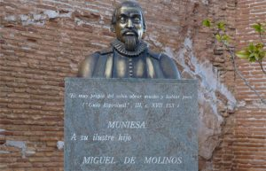 Busto de Miguel de Molinos en Zaragoza | Rialta