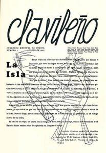 Clavileño, n. 1, agosto, 1942