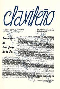 Clavileño, n. 3, octubre, 1942