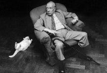 Jorge Luis Borges, en una foto de archivo