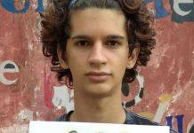 Daniel Triana, joven actor cubano detenido el 11 de julio en Cuba durante las manifestaciones (foto: Daniel Triana / Facebook)