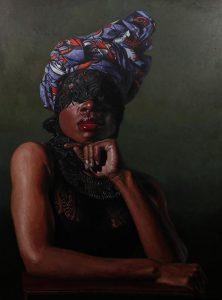 'Mapelola (revisit)', Idowu Oluwaseun, 2021 (imagen cortesía Reiners Contemporary Art)