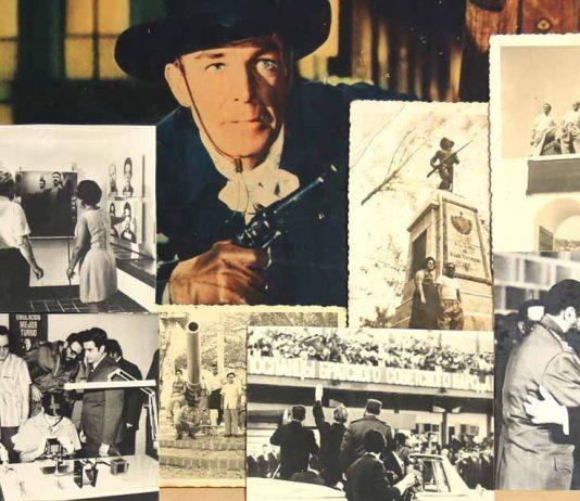 Detalle de un collage de Ricardo Miguel Hernández