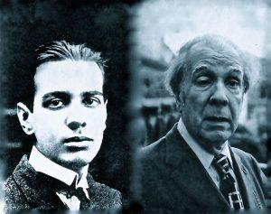 Borges joven y viejo Montaje de Yeyebooks | Rialta