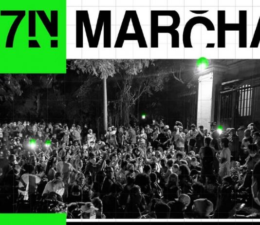 Grupo 27N se suma a la convocatoria de una marcha cívica para el 15 de noviembre próximo.