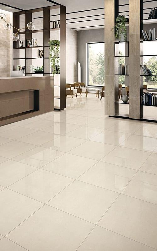 can porcelain floor tiles be steam